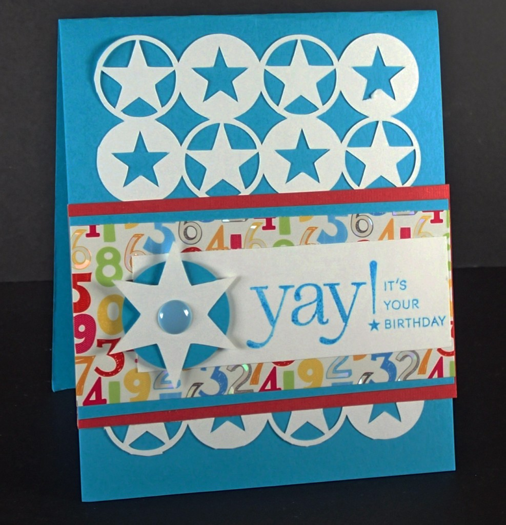 Brithday Star card