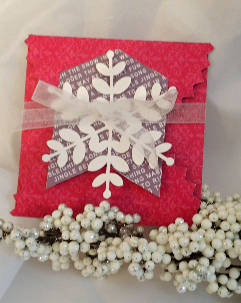 christmas gift card envelope
